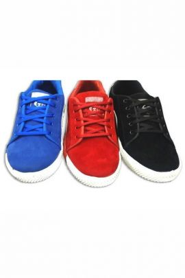 A Bunch Of Blue Mens Canvas Casual Shoes Set