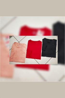 A Bunch Of Daily Wear Cotton Mens Plain Tshirts Set
