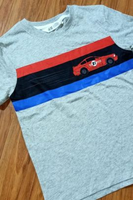 A Bunch Of Daily Wear Printed Readymade Cotton Boys Tshirts Set