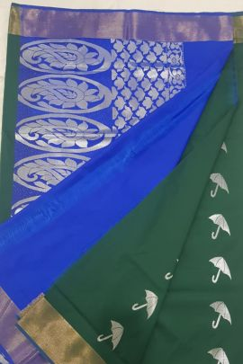 A Bunch Of Festival Wear Silk Weaved R Yuvaraj Kanchipuram Saree Set