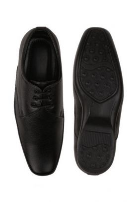 A Bunch Of Leather Mens Black Formal Shoes Set