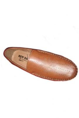 A Bunch Of Light Brown PU Mens Formal Shoes Set
