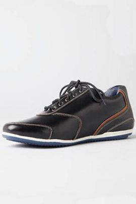 A Bunch Of Stylish Black Event Wear Mens Casual Lace Up Shoes Set