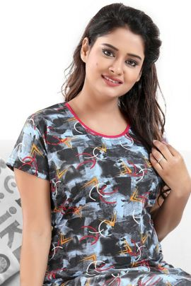 A Bunch Of Stylish Daily Wear Night Ladies Joban Night Wear Maxi Collection