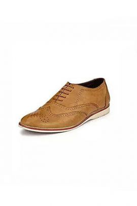 A Bunch PU Mens Brown Casual Lace Up Shoes Set