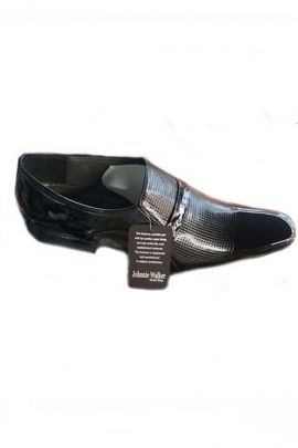 A Pack Of Black PU Mens Fashionable Shoes Bunch
