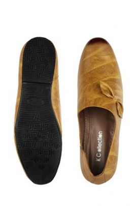 A Pack Of Leather Brown Event Wear Mens Loafers Set
