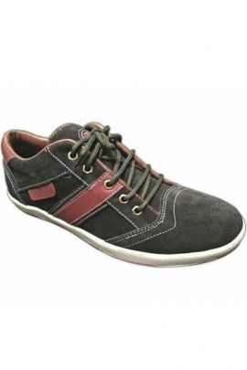 A Set Of Black Mens Comfortable Lace Up Shoes Bunch