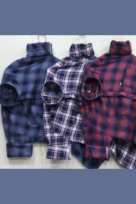 A Set Of Cotton Printed Daily Wear Stylish Mens Shirts Bunch