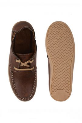 A Set Of Stylish Brown Mens Stylish Leather Shoes Bunch