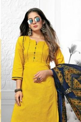 Bulk Daily Wear Printed Cotton Summer Special Suit Set