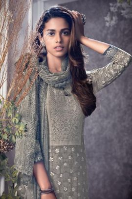 Bunch Of Casual Wear Printed Cambric Suit By Tanishk Fashion