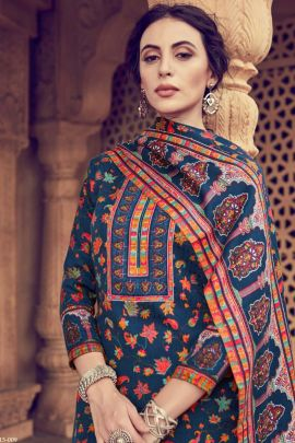 Bunch Of Daily Wear Studio Pashmina Printed Salwar Suit With Dupatta