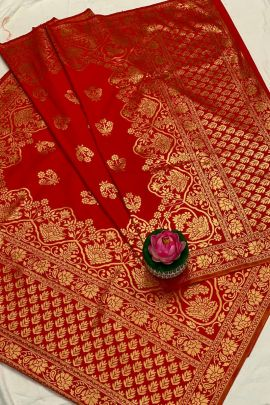 Bunch Of Designer Banarasi Silk Weaved Dupattas Collection