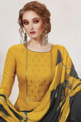 Bunch Of Embroidered Rayon Casual Suit By Wanna