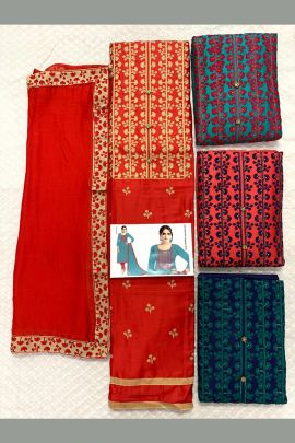Bunch Of Ethnic Event Wear Un Stithched Salwar Suit Collection
