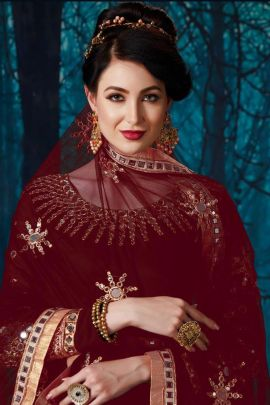 Bunch Of Georgette Embroidery Mirror Work Suit By Rabanni Senhora Vol 10