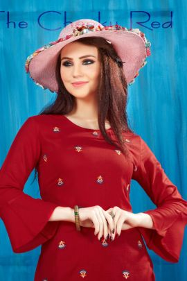 Bunch Of Western Wear Rayon Embroidered Long Sleeves Collection