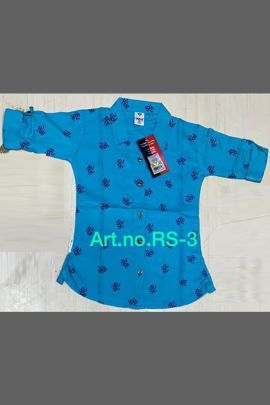 Bundle Of Western Wear Rayon Printed Short Tops For Girls Collection