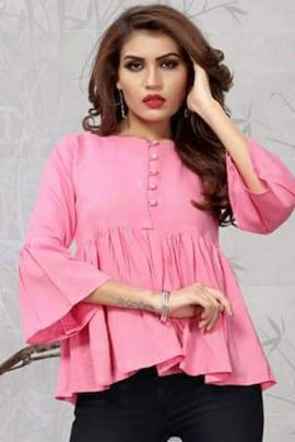 Collection Of College Wear Stylish Rayon Tops By Fashion Galleria