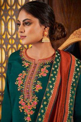 Collection Of Jam Silk Indo Western Festive Wear Catalog By Triple Aaa