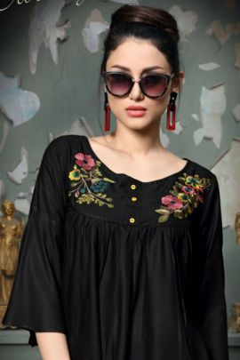 Collection Of Party Wear Stylish Rayon Tops By Muskan
