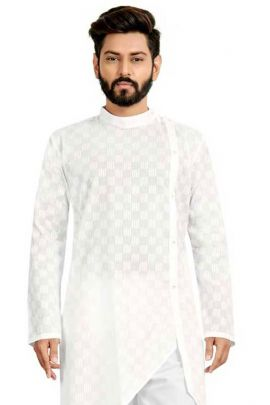 Collection Of Puja Wear Mens Cotton Kurta Pajama Set By VND