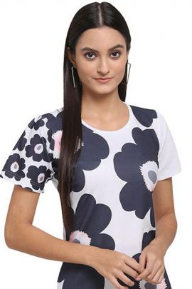 Pack Of Casual Wear Printed Lycra Mesmora One Piece Bunch