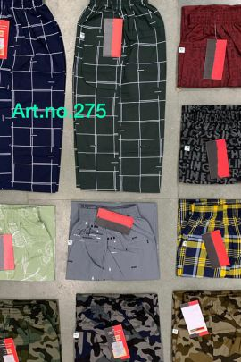 Pack Of Daily Wear Printed Cotton Kruti Garments Boys Capri Bunch