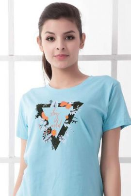 Pack Of Night Daily Wear Printed Cotton Tshirt Top Catalog