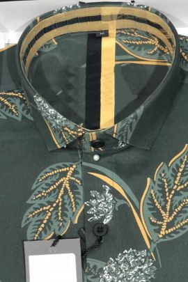 Pack Of Party College Wear Printed Cotton Shirts Catalog