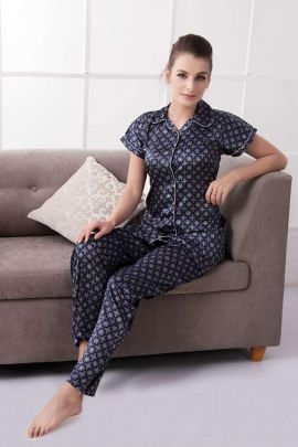 Pack Of Printed Daily Night Wear Cotton Night Suit At Factory Rates