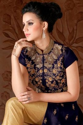 Pack Of Wedding Wear Silk Embroidery Work Suit Swagat Bunch