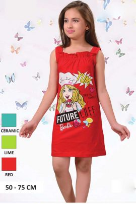 Red-Barbie-Print-Cotton-Girls-Nightwear-In-Wholesale-3556-6701.jpg
