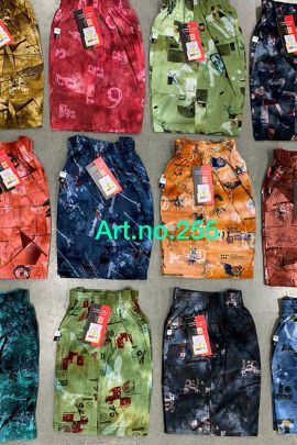 Set Of Casual Wear Printed Cotton Kruti Garments Boys Shorts