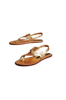 Wholesale Brown PU Event Wear Ladies Sandals Collection