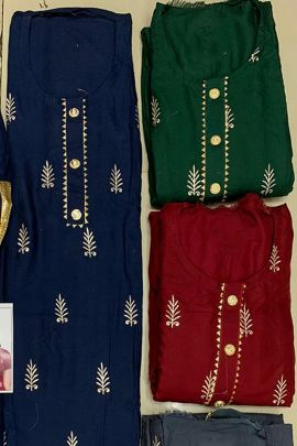Wholesale Cambric Printed Event Wear Dress Material With Dupatta Collection