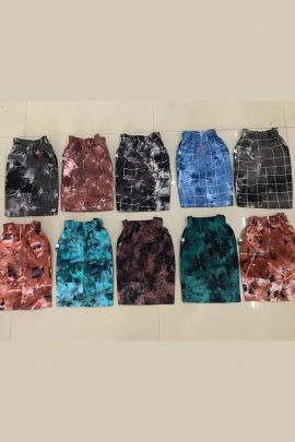 Wholesale Casual Daily Wear Printed Cotton Boys Shorts Collection