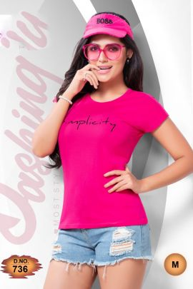 Wholesale College Wear Printed Cotton Sinker Tshirt Collection