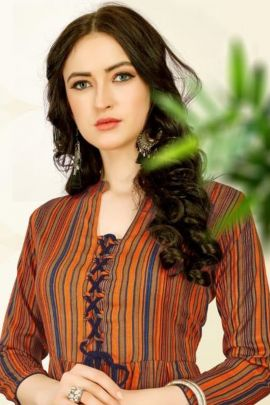 Wholesale College Wear Printed Rayon Tops Set