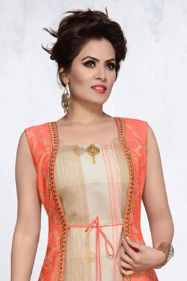 Wholesale Cotton Embroidered Evening Wear Barebeesaa Kurti With Inner Collection