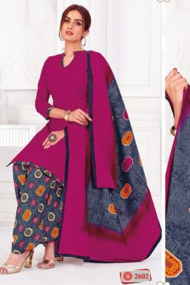 Wholesale Cotton Printed Work Daily Wear Suit