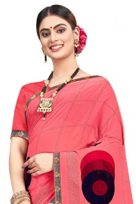 Wholesale Daily Casual Wear Printed Georgette Himpriya Fashion With Blouse Collection