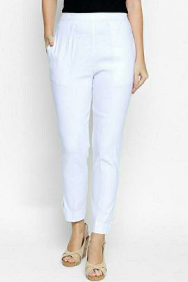 Wholesale Daily College Casual Wear Plain Cotton Pants For Women Collection