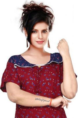 Wholesale Daily Night Wear Printed Nighty At Bulk Rates