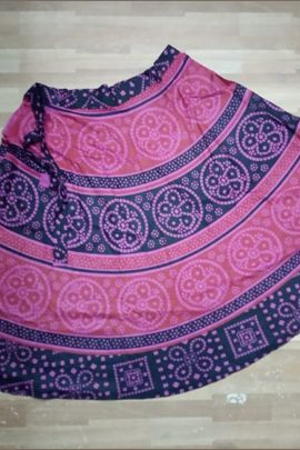 Wholesale Daily Office Wear Unique Printed Cotton Skirts Collection