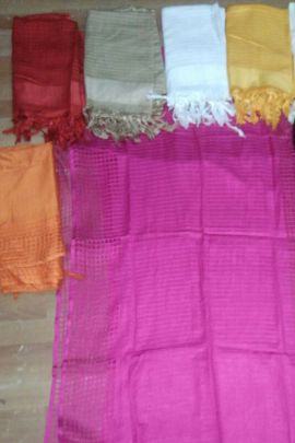 Wholesale Daily Regular Wear Plain Silk Dupatta Collection