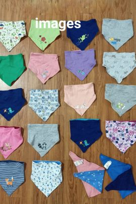 Wholesale Daily Wear Cotton Printed Infant Bibs Catelogue
