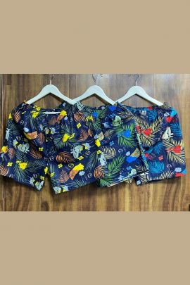 Wholesale Daily Wear Cotton Printed Mens Shorts Collection