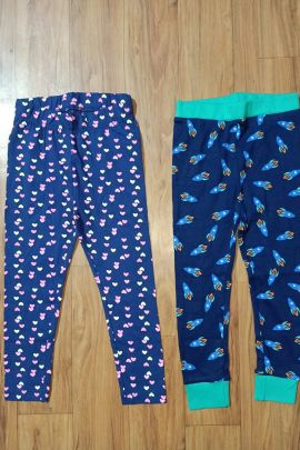 Wholesale Daily Wear Printed Cotton Kids Girl Pants Collection